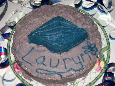 Blue Diamond Cake