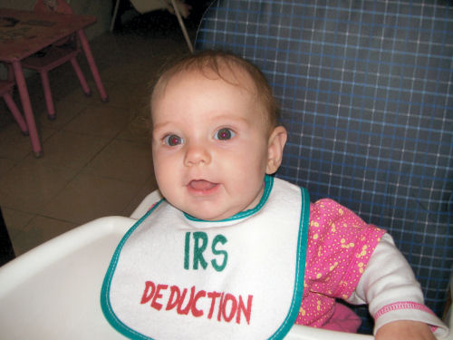My little tax deduction